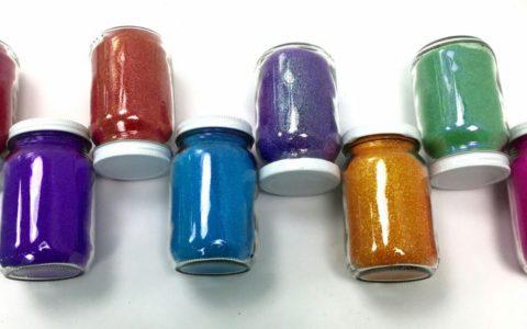 Glitters Rainbow para Serigrafía Textil