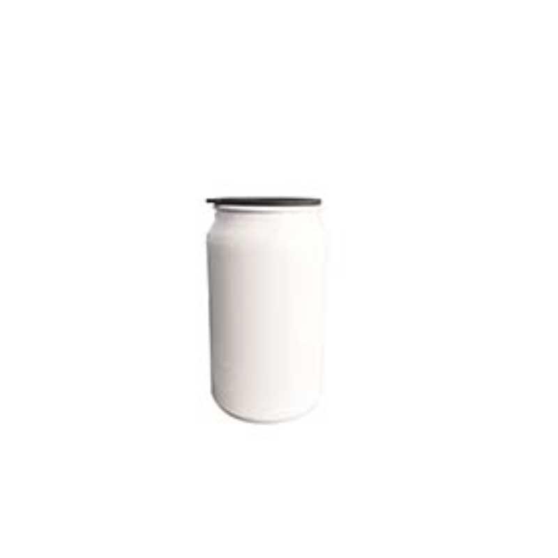 Lata De Aluminio Sencilla Blanca 350 Ml Pza Think