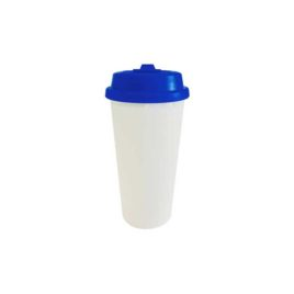 Vaso Polímero con Chupón Azul 750 ml pza