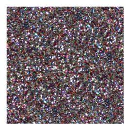 Vinil Textil Glitter Multi 50 cm Ancho x Metro